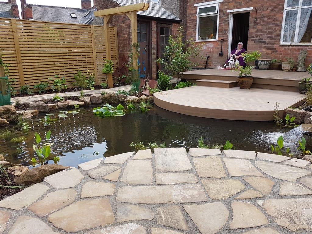 Garden Design in Sneinton, Nottingham